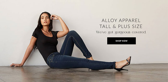 Alloy Apparel introducing Alloy+ also in tall sizes
