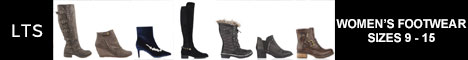 Long Tall Sally: Women's footwear sizes 9 - 15