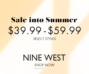 Sale into Summer: $39.99 - $59.99 select styles